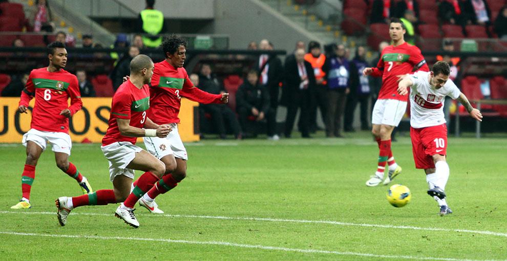 Polska 0-0 Portugalia - fot. Piotr Galas (zdjęcie 54 z 68)