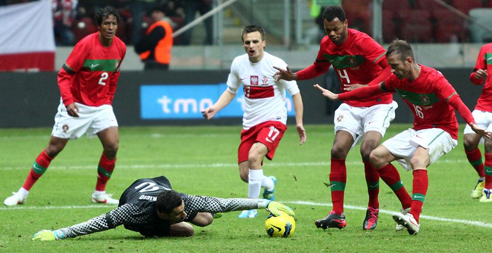 Polska 0-0 Portugalia - fot. Piotr Galas (zdjęcie 65 z 68)