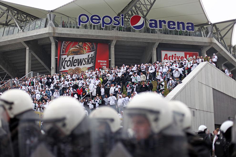 Legia Warszawa - Ruch Chorzów - fot. Piotr Galas (zdjęcie 2 z 70)