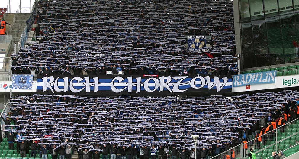 Legia Warszawa - Ruch Chorzów - fot. Piotr Galas (zdjęcie 20 z 70)