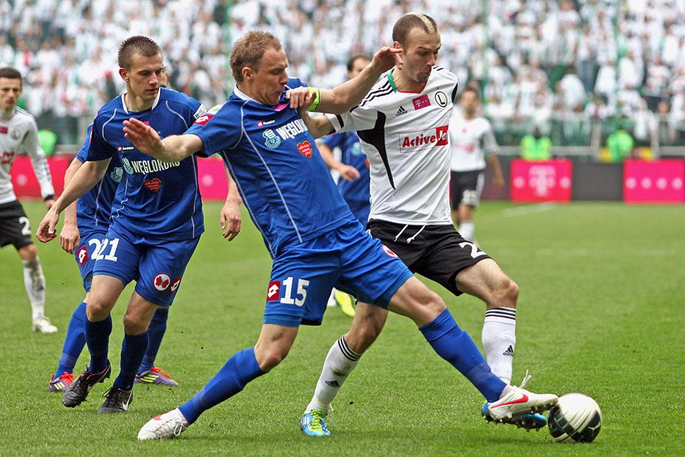 Legia Warszawa - Ruch Chorzów - fot. Piotr Galas (zdjęcie 40 z 70)