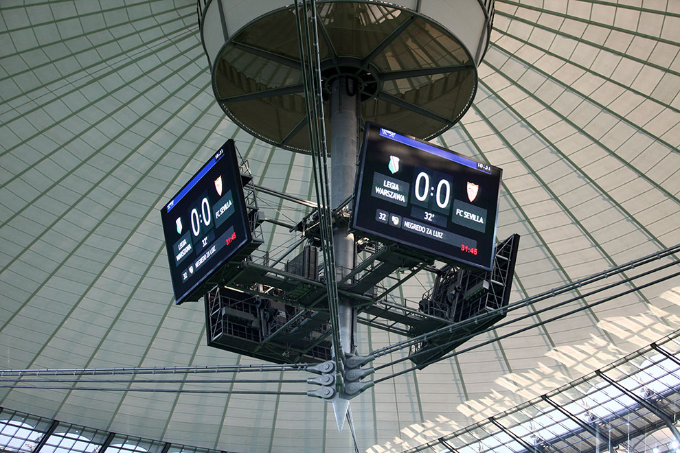 Sparing: Legia Warszawa 0-2 Sevilla FC - fot. Piotr Galas (zdjęcie 29 z 71)