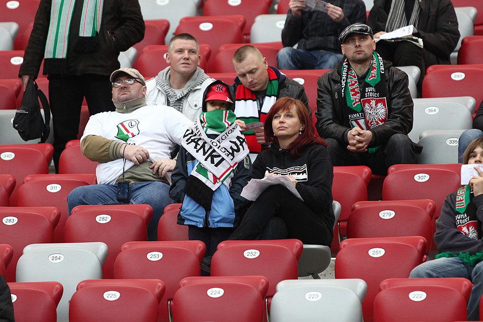 Sparing: Legia Warszawa 0-2 Sevilla FC - fot. Piotr Galas (zdjęcie 38 z 71)