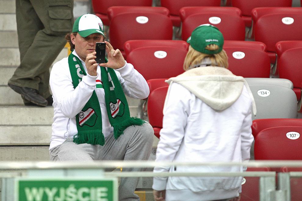 Sparing: Legia Warszawa 0-2 Sevilla FC - fot. Piotr Galas (zdjęcie 40 z 71)