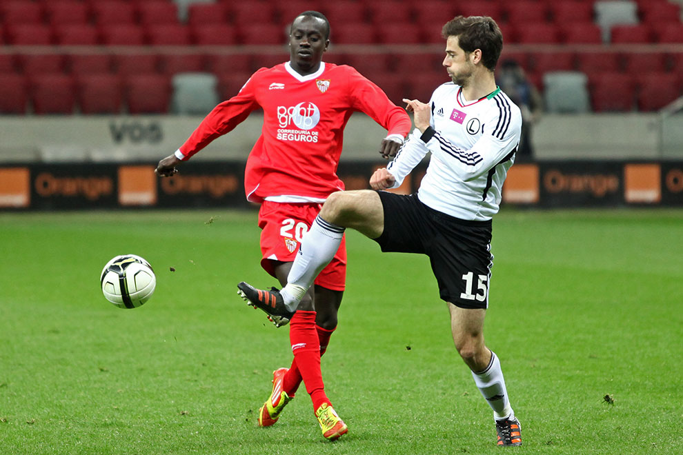 Sparing: Legia Warszawa 0-2 Sevilla FC - fot. Piotr Galas (zdjęcie 43 z 71)