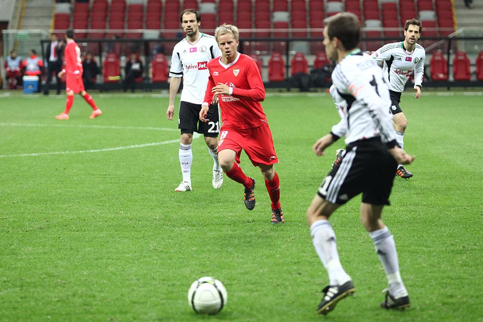 Sparing: Legia Warszawa 0-2 Sevilla FC - fot. Piotr Galas (zdjęcie 44 z 71)
