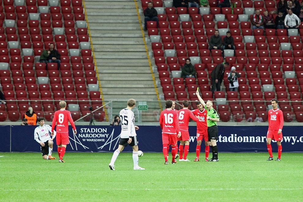 Sparing: Legia Warszawa 0-2 Sevilla FC - fot. Piotr Galas (zdjęcie 46 z 71)