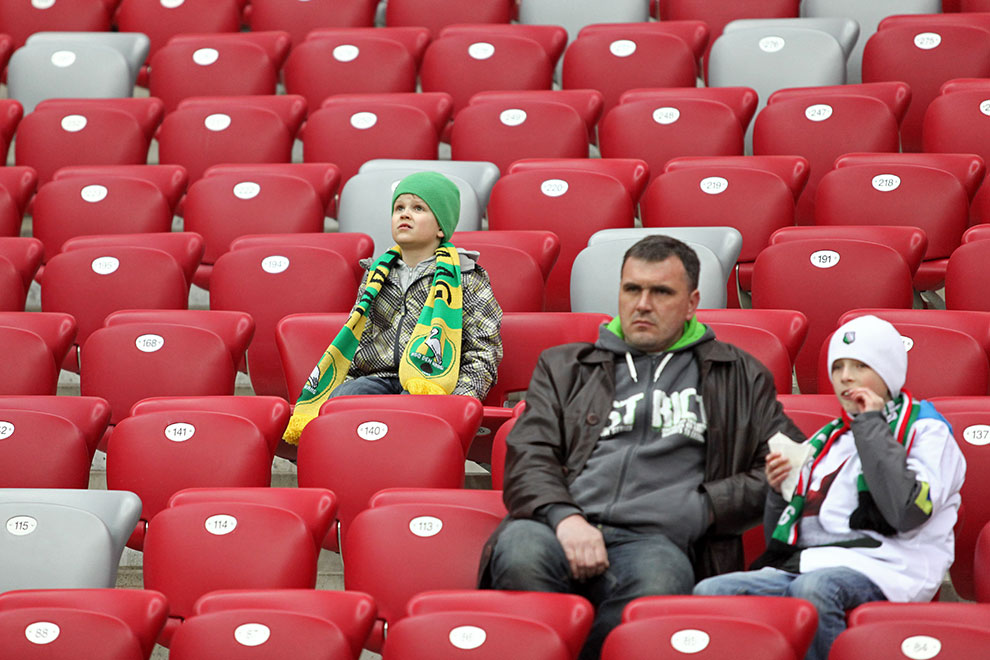 Sparing: Legia Warszawa 0-2 Sevilla FC - fot. Piotr Galas (zdjęcie 49 z 71)