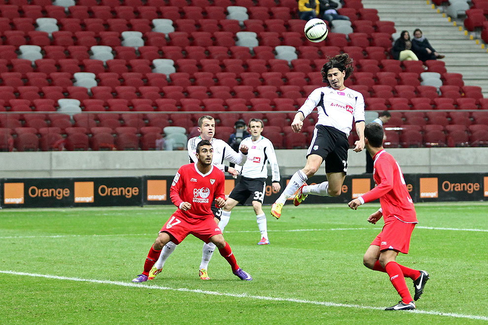 Sparing: Legia Warszawa 0-2 Sevilla FC - fot. Piotr Galas (zdjęcie 56 z 71)
