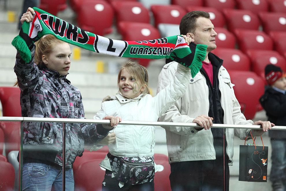 Sparing: Legia Warszawa 0-2 Sevilla FC - fot. Piotr Galas (zdjęcie 59 z 71)