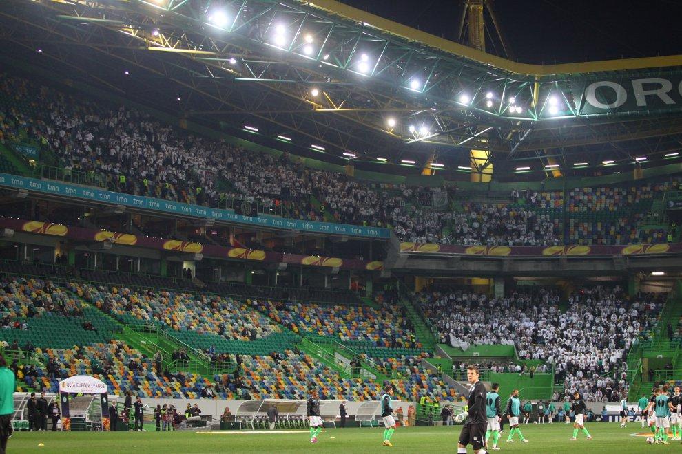 Sporting Lizbona 1-0 Legia Warszawa - fot. Piotr Galas (zdjęcie 11 z 64)