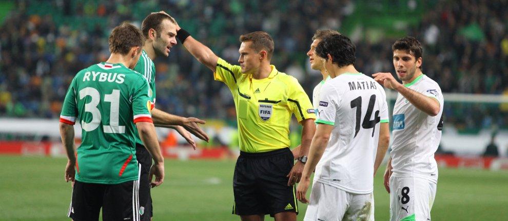 Sporting Lizbona 1-0 Legia Warszawa - fot. Piotr Galas (zdjęcie 19 z 64)