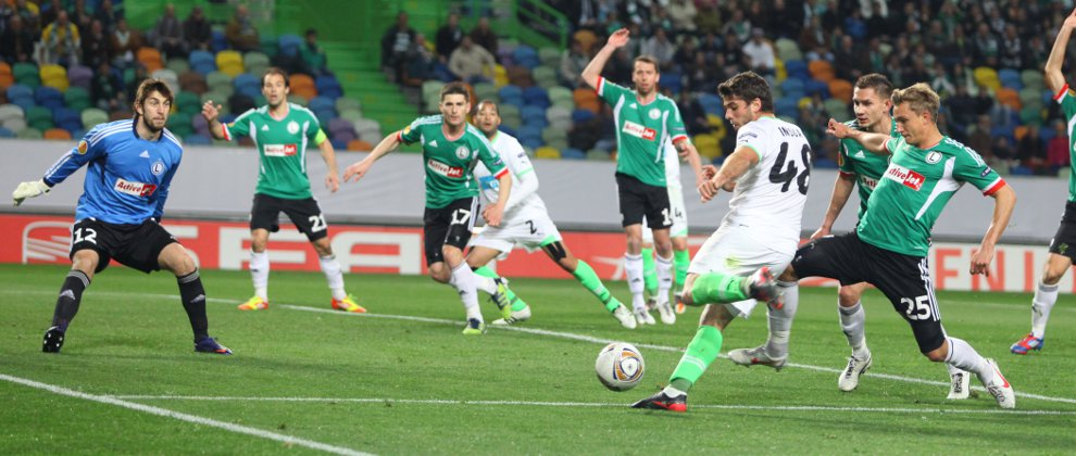 Sporting Lizbona 1-0 Legia Warszawa - fot. Piotr Galas (zdjęcie 20 z 64)