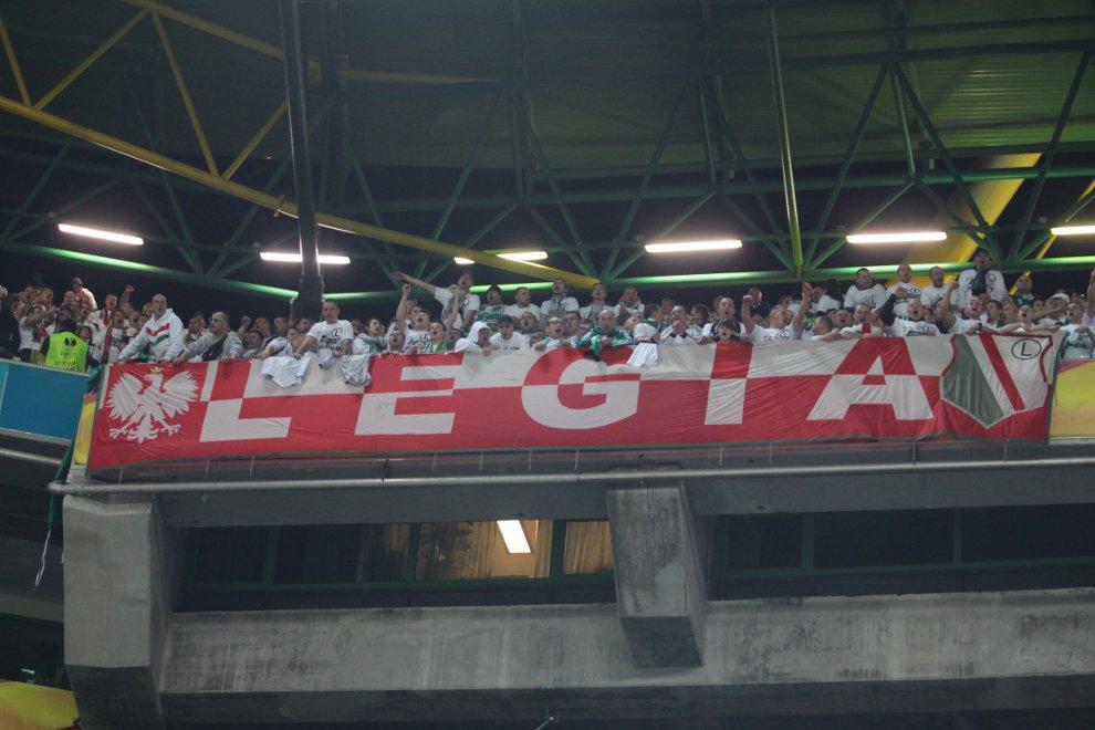 Sporting Lizbona 1-0 Legia Warszawa - fot. Piotr Galas (zdjęcie 22 z 64)