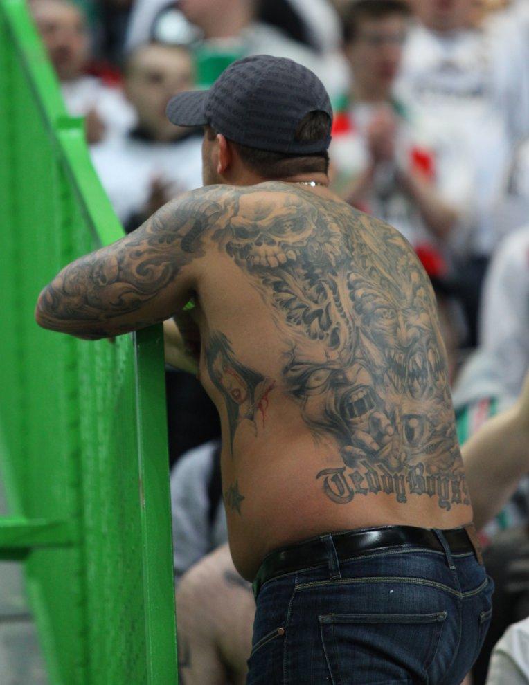 Sporting Lizbona 1-0 Legia Warszawa - fot. Piotr Galas (zdjęcie 25 z 64)