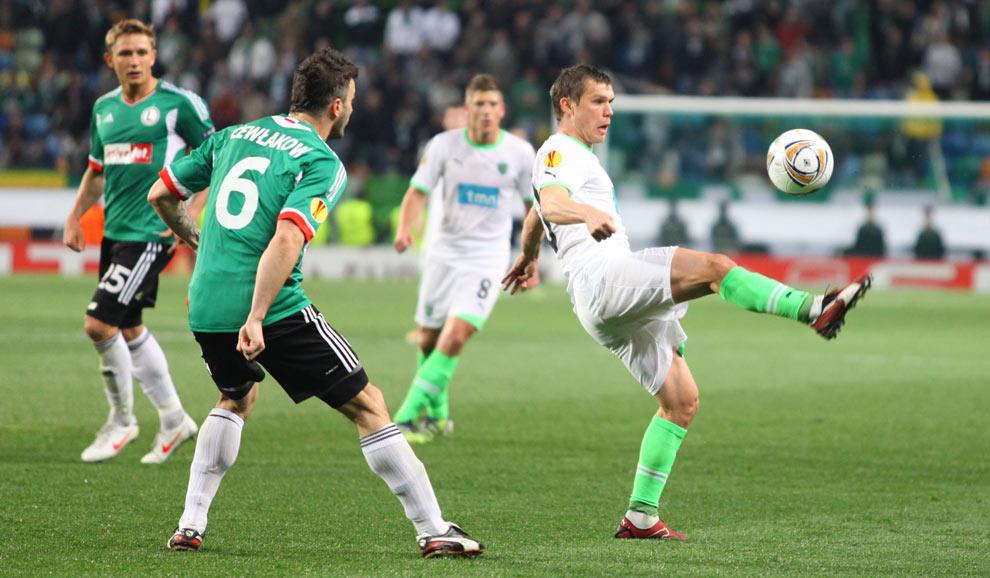 Sporting Lizbona 1-0 Legia Warszawa - fot. Piotr Galas (zdjęcie 32 z 64)