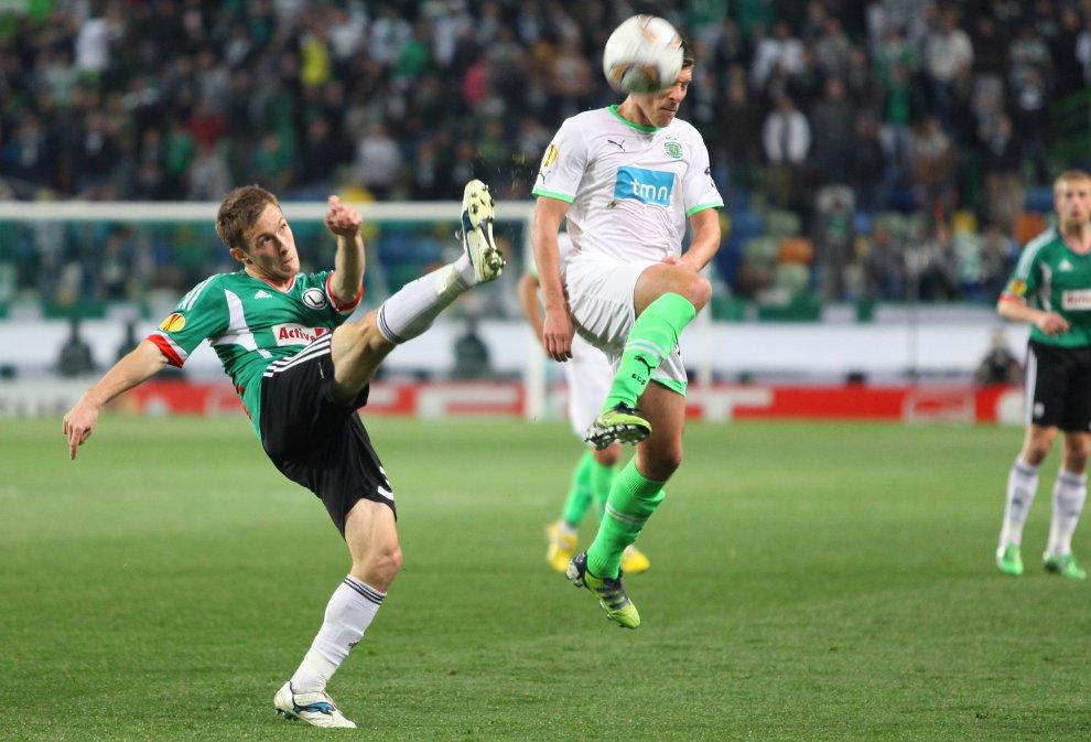 Sporting Lizbona 1-0 Legia Warszawa - fot. Piotr Galas (zdjęcie 33 z 64)