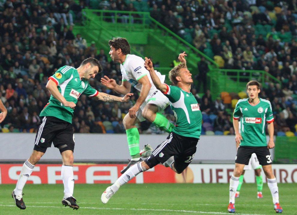 Sporting Lizbona 1-0 Legia Warszawa - fot. Piotr Galas (zdjęcie 34 z 64)