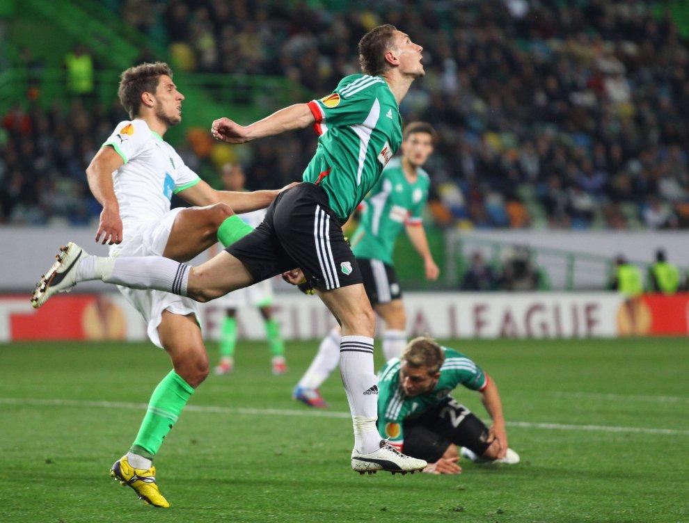 Sporting Lizbona 1-0 Legia Warszawa - fot. Piotr Galas (zdjęcie 35 z 64)