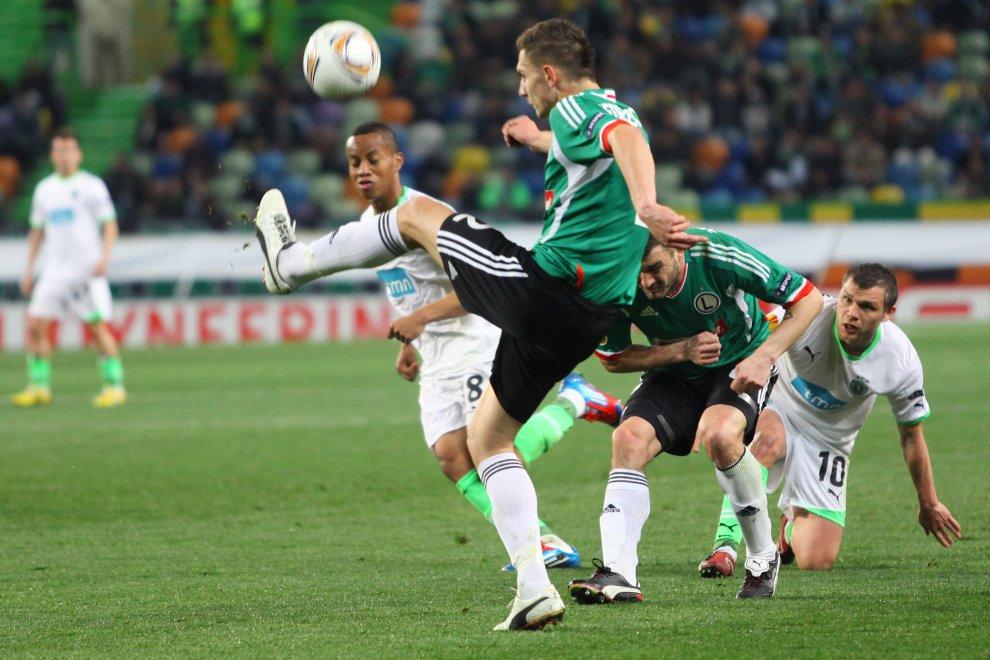 Sporting Lizbona 1-0 Legia Warszawa - fot. Piotr Galas (zdjęcie 37 z 64)