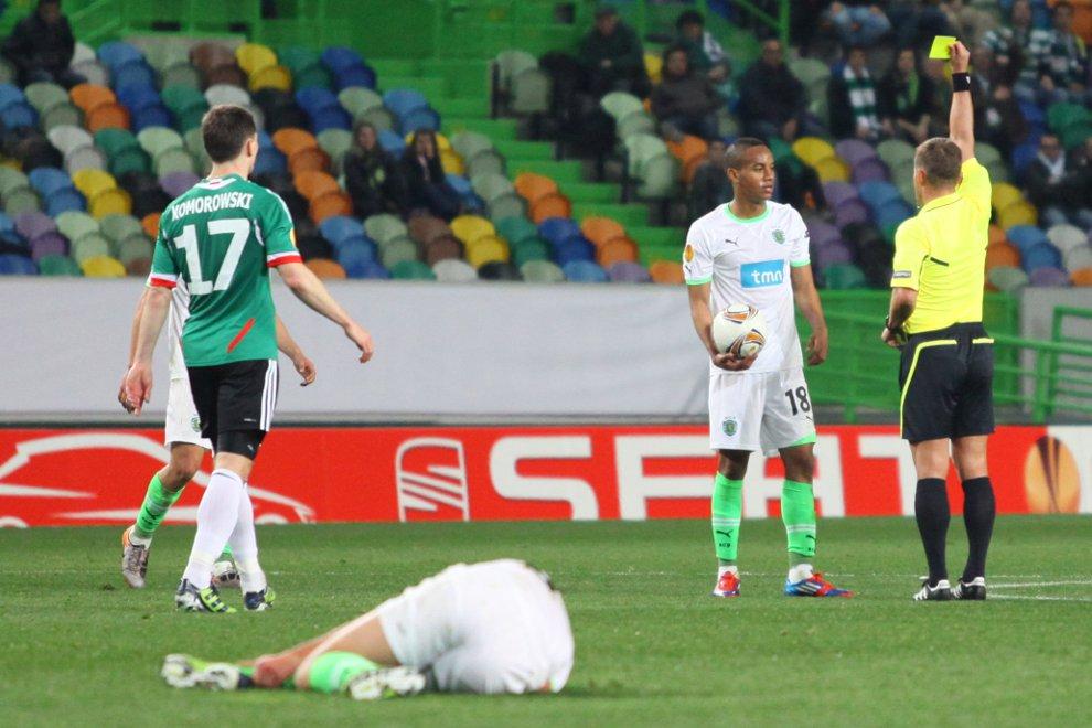 Sporting Lizbona 1-0 Legia Warszawa - fot. Piotr Galas (zdjęcie 38 z 64)
