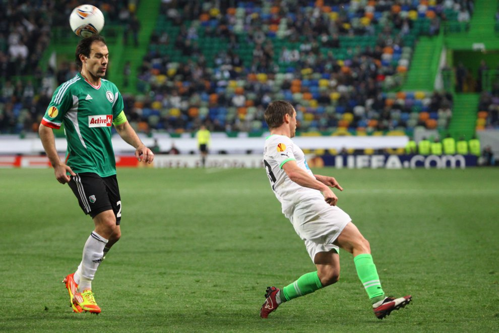 Sporting Lizbona 1-0 Legia Warszawa - fot. Piotr Galas (zdjęcie 39 z 64)