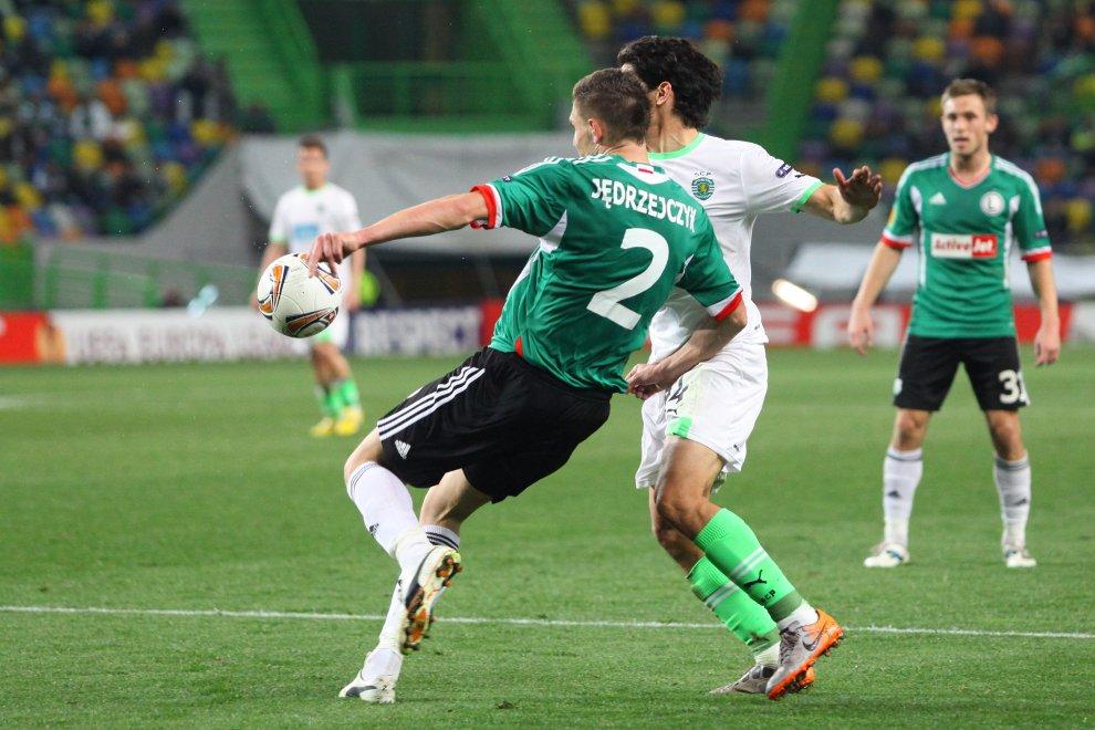 Sporting Lizbona 1-0 Legia Warszawa - fot. Piotr Galas (zdjęcie 40 z 64)