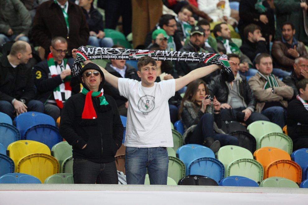 Sporting Lizbona 1-0 Legia Warszawa - fot. Piotr Galas (zdjęcie 41 z 64)