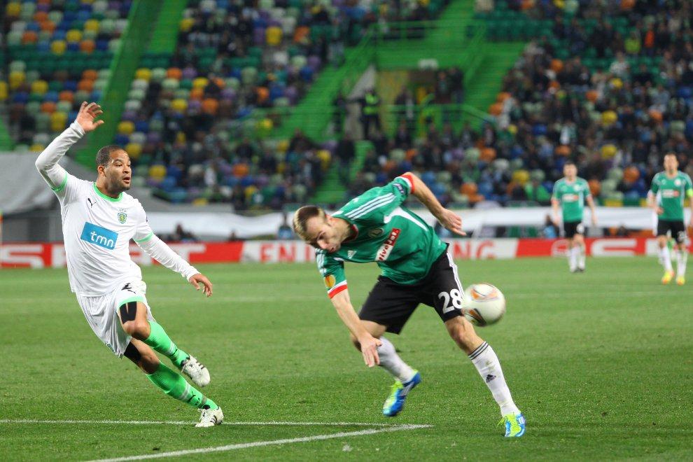 Sporting Lizbona 1-0 Legia Warszawa - fot. Piotr Galas (zdjęcie 44 z 64)