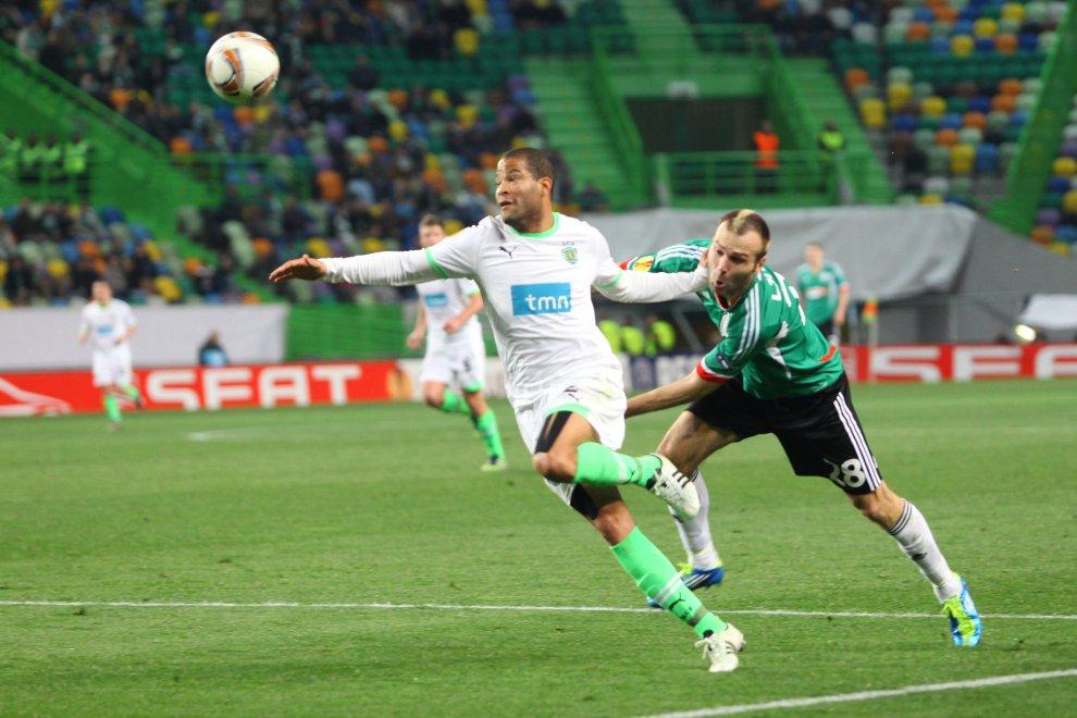 Sporting Lizbona 1-0 Legia Warszawa - fot. Piotr Galas (zdjęcie 45 z 64)