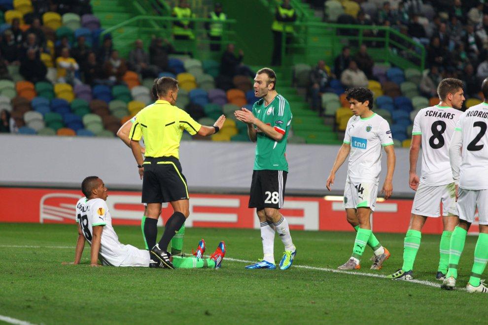 Sporting Lizbona 1-0 Legia Warszawa - fot. Piotr Galas (zdjęcie 46 z 64)