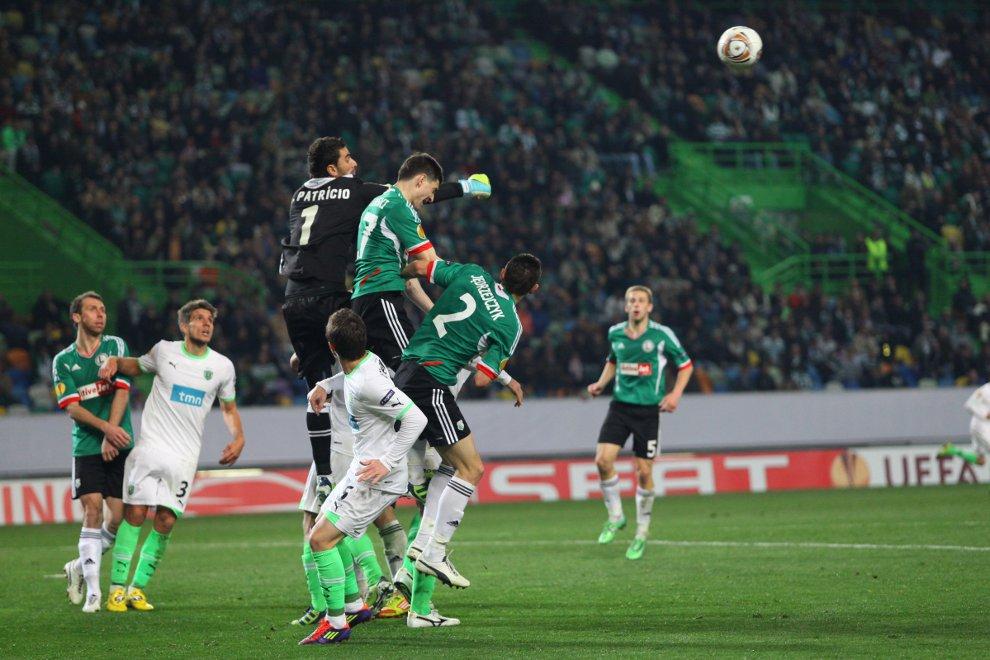 Sporting Lizbona 1-0 Legia Warszawa - fot. Piotr Galas (zdjęcie 51 z 64)