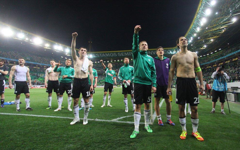 Sporting Lizbona 1-0 Legia Warszawa - fot. Piotr Galas (zdjęcie 54 z 64)