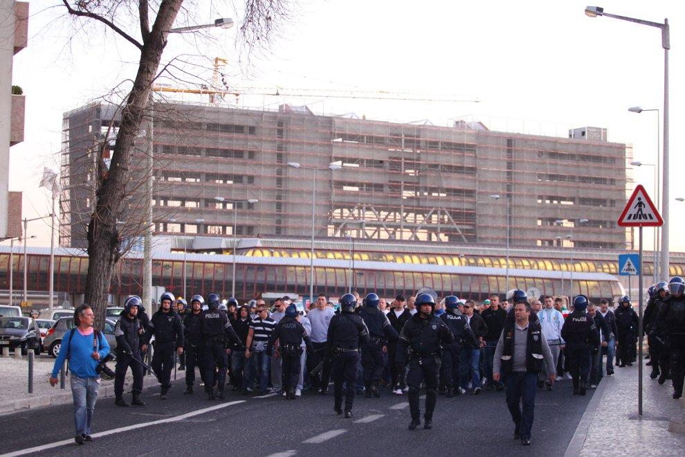 Sporting Lizbona 1-0 Legia Warszawa - fot. Piotr Galas (zdjęcie 6 z 64)