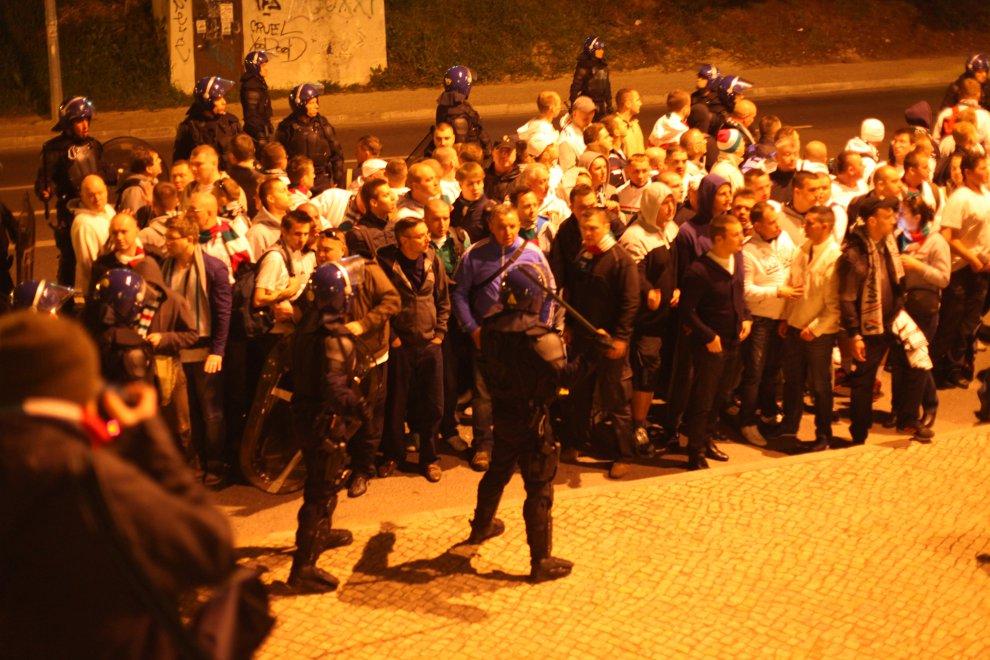 Sporting Lizbona 1-0 Legia Warszawa - fot. Piotr Galas (zdjęcie 60 z 64)