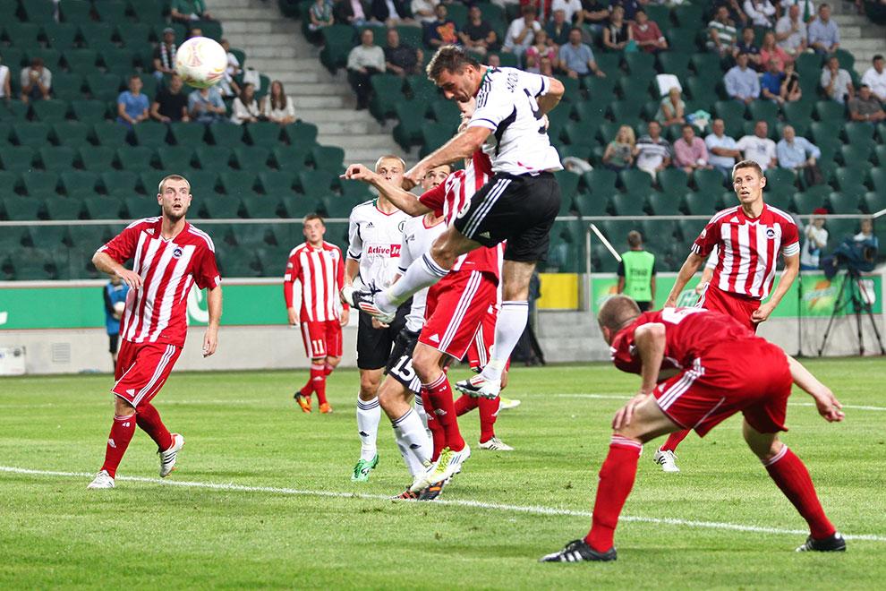 Legia Warszawa 5-1 Metalurgs Lipawa - fot. Piotr Galas (zdjęcie 19 z 48)
