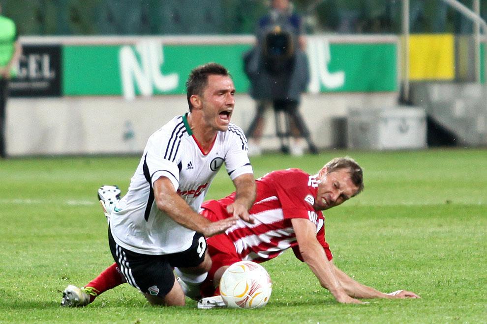 Legia Warszawa 5-1 Metalurgs Lipawa - fot. Piotr Galas (zdjęcie 20 z 48)