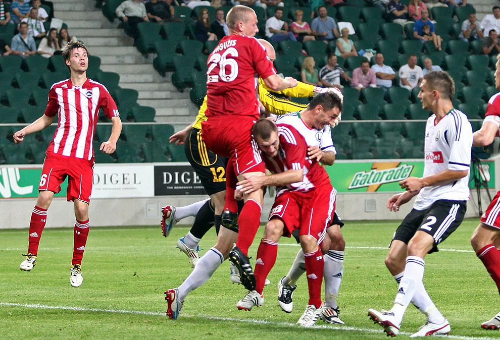 Legia Warszawa 5-1 Metalurgs Lipawa - fot. Piotr Galas (zdjęcie 22 z 48)