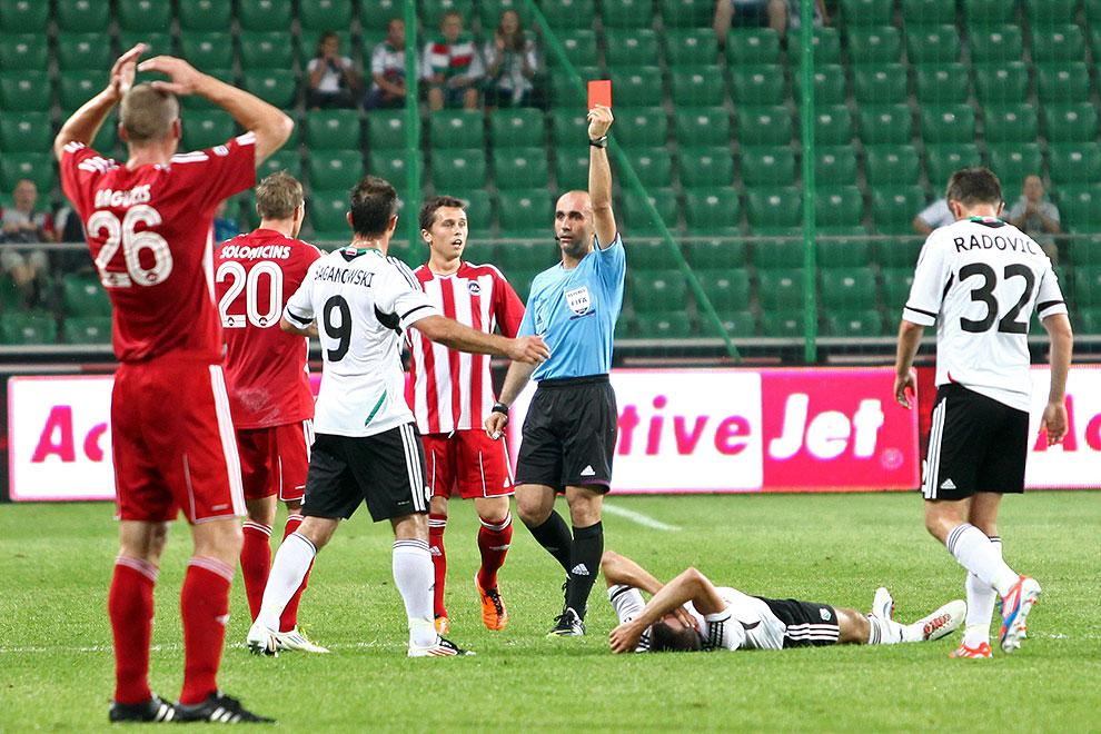 Legia Warszawa 5-1 Metalurgs Lipawa - fot. Piotr Galas (zdjęcie 27 z 48)