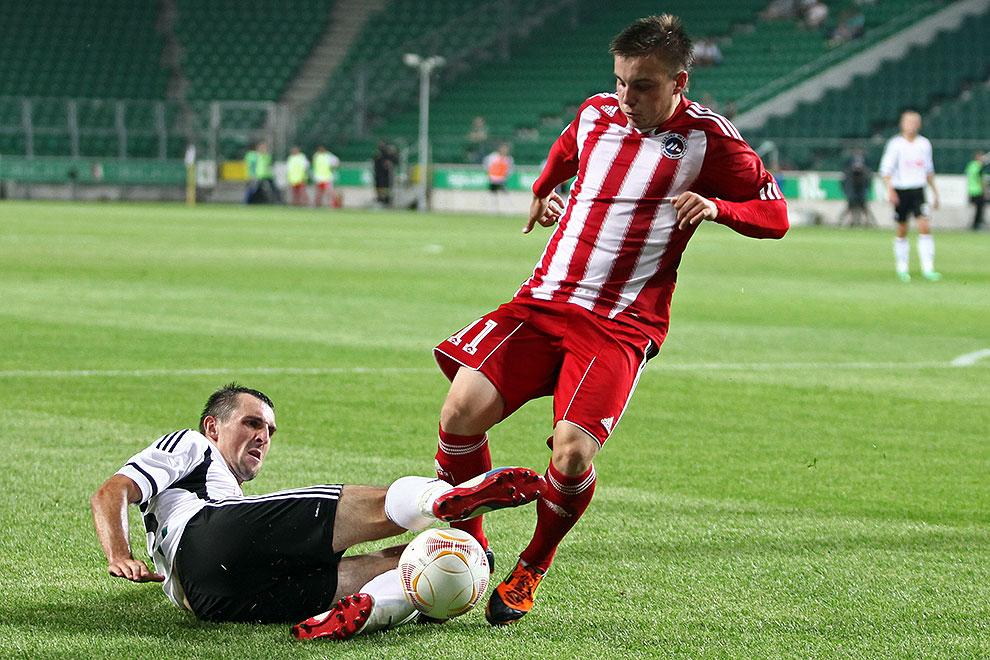 Legia Warszawa 5-1 Metalurgs Lipawa - fot. Piotr Galas (zdjęcie 31 z 48)