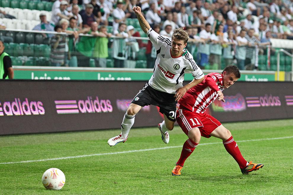 Legia Warszawa 5-1 Metalurgs Lipawa - fot. Piotr Galas (zdjęcie 32 z 48)