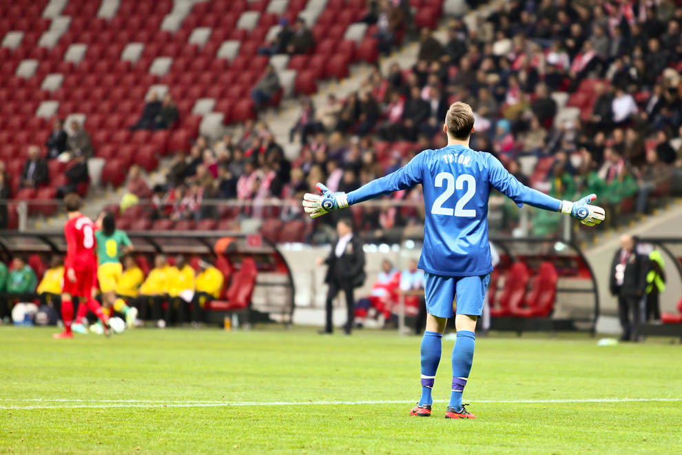Polska 1-0 Republika Południowej Afryki - fot. Piotr Galas (zdjęcie 1 z 52)
