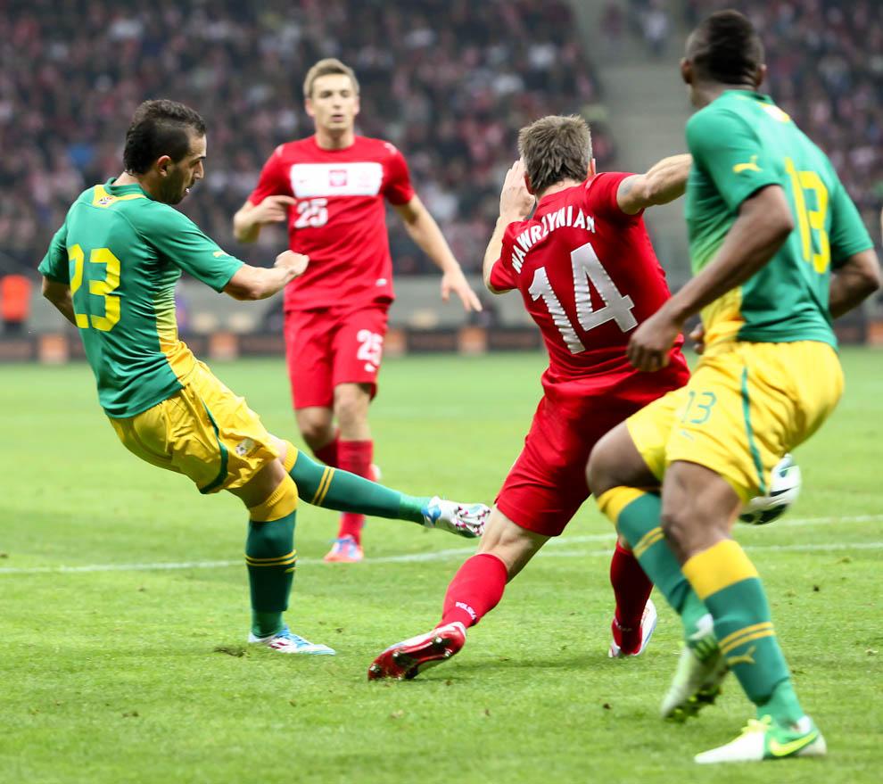 Polska 1-0 Republika Południowej Afryki - fot. Piotr Galas (zdjęcie 18 z 52)