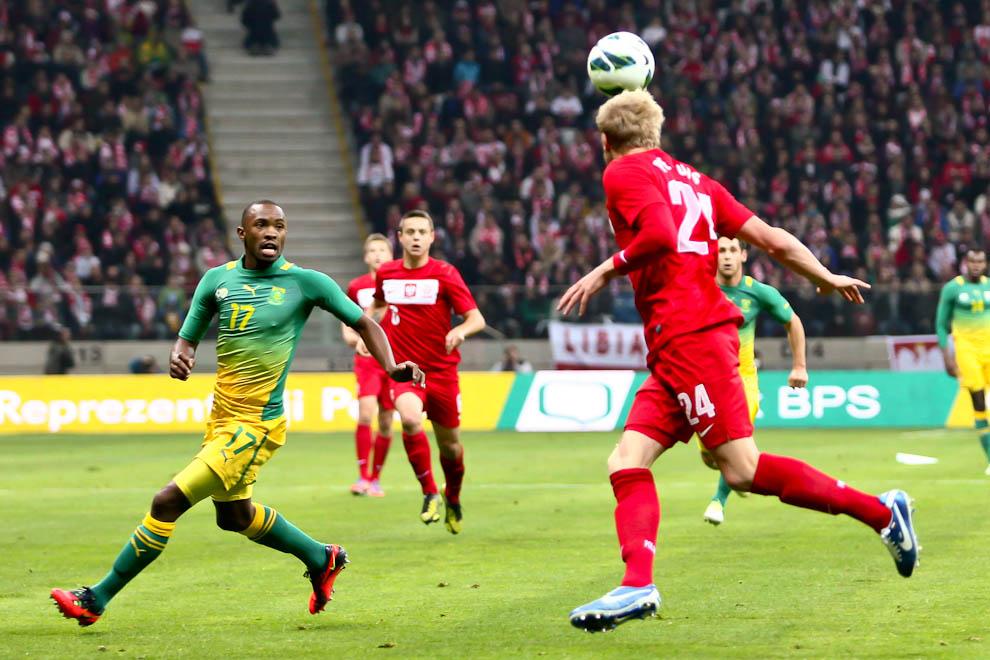 Polska 1-0 Republika Południowej Afryki - fot. Piotr Galas (zdjęcie 2 z 52)