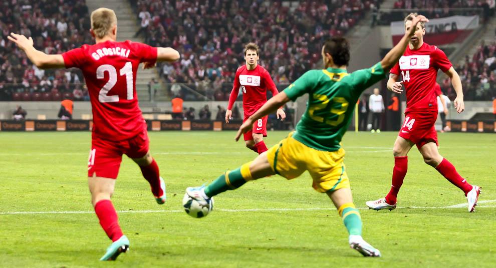 Polska 1-0 Republika Południowej Afryki - fot. Piotr Galas (zdjęcie 28 z 52)
