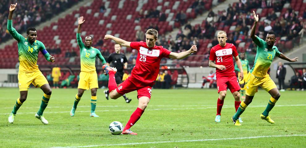 Polska 1-0 Republika Południowej Afryki - fot. Piotr Galas (zdjęcie 35 z 52)
