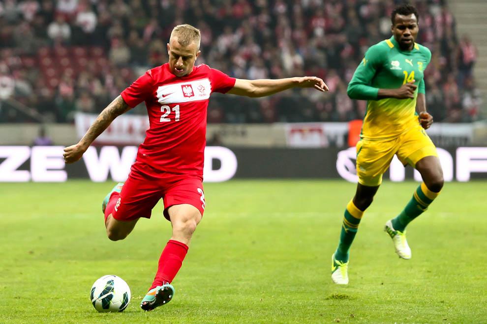 Polska 1-0 Republika Południowej Afryki - fot. Piotr Galas (zdjęcie 37 z 52)