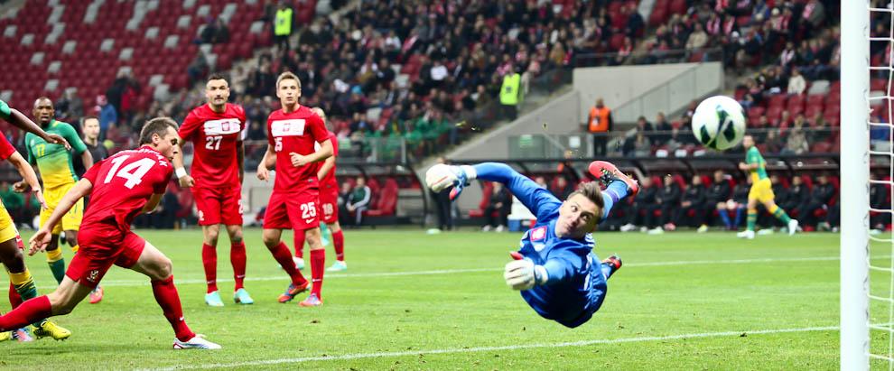Polska 1-0 Republika Południowej Afryki - fot. Piotr Galas (zdjęcie 4 z 52)