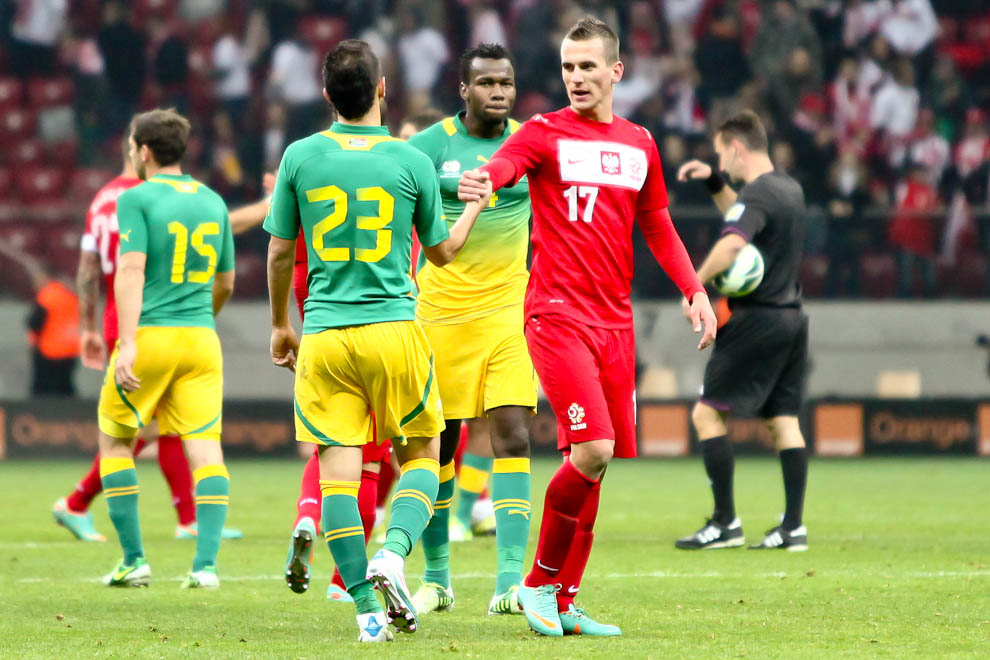 Polska 1-0 Republika Południowej Afryki - fot. Piotr Galas (zdjęcie 50 z 52)