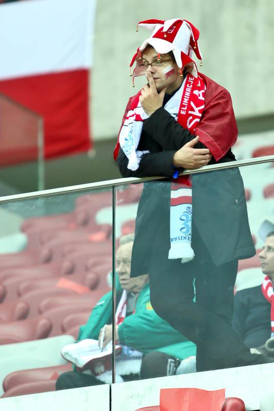 Polska - Anglia - mecz odwołany - fot. Piotr Galas (zdjęcie 10 z 30)